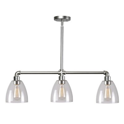 Olga 3-Light Kitchen Island Pendant