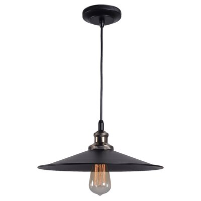 Dobson 1-Light Pendant Size: Small