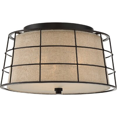Nathanael 3-Light Flush Mount