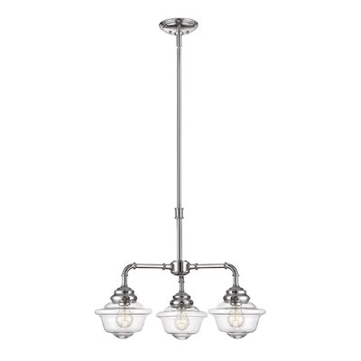 Davis 3-Light Shaded Chandelier