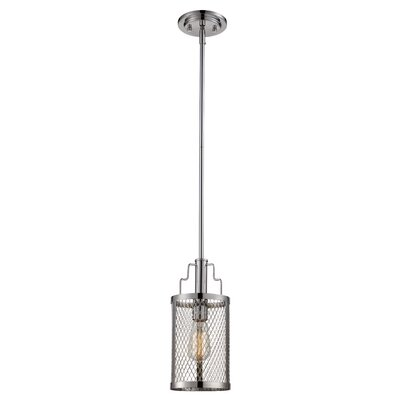 Vernet 1-Light Mini Pendant Finish: Polished Chrome