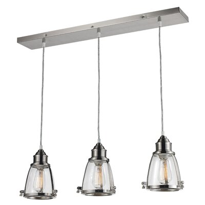 Belmont 3-Light Kitchen Island Pendant