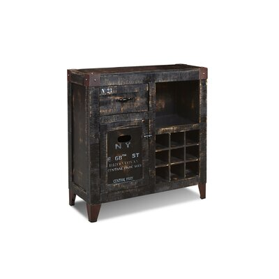 Sandie 9 Bottle Floor Wine Cabinet