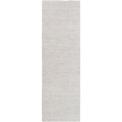 Hugo Hand-Woven Ivory Area Rug Rug Size: Rectangle 5 x 76