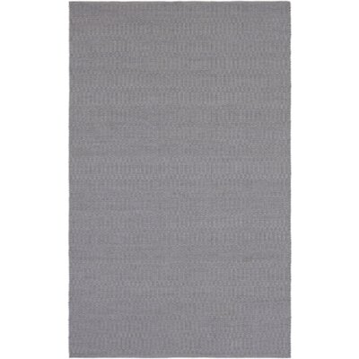 Ronald Hand-Woven Medium Gray Indoor/Outdoor Area Rug Rug size: Rectangle 4 x 6