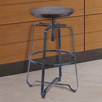 Jaqueline Adjustable Height Bar Stool