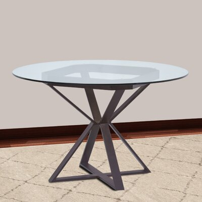 Madalyn Dining Table Base Finish: Auburn Bay