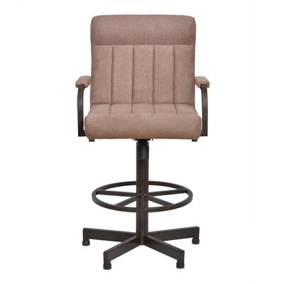 Redhorn 26 Swivel Bar Stool with Cushion
