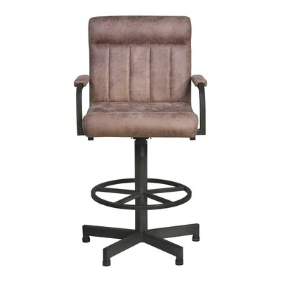 Redhorn 30 inch Swivel Bar Stool with Cushion