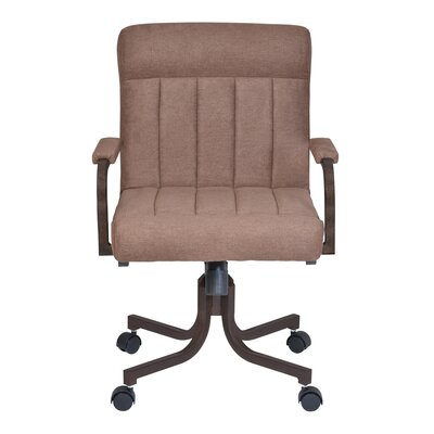 Keely Swivel Arm Chair