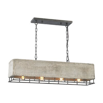 Bishop 4-Light Kitchen Island Pendant