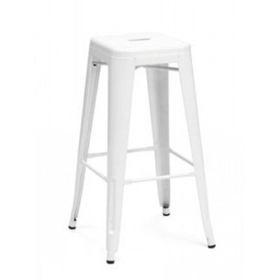 Sheree 29 Bar Stool Finish: White