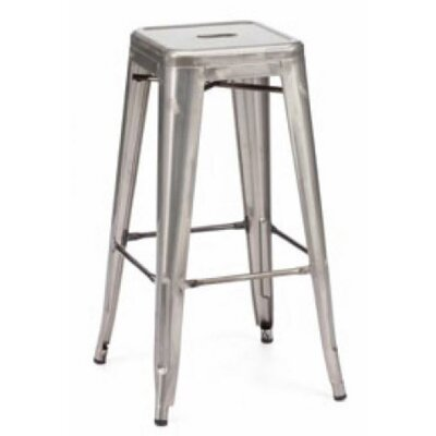 Sheree 29 Bar Stool Finish: Steel