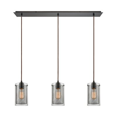 Acacia 3-Light Kitchen Island Pendant