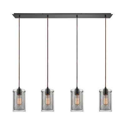 Acacia 4-Light Kitchen Island Pendant