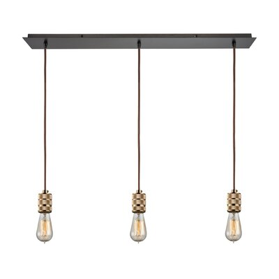 Elmira 3-Light Kitchen Island Pendant