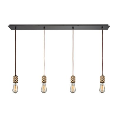 Elmira 4-Light Kitchen Island Pendant