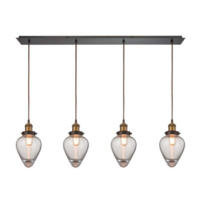 Cyprien 4-Light Kitchen Island Pendant