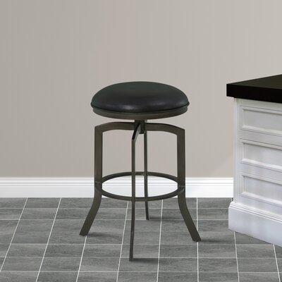 Ohanko 26 inch Swivel Bar Stool with Cushion Finish: Mineral