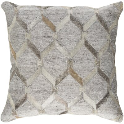Rexburg Geometric Pillow Cover Size: 20 H x 20 W x 0.25 D, Color: Brown