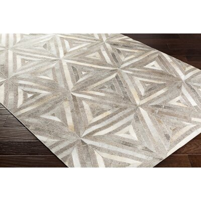 Armando Retangle Hand-Crafted Brown/Neutral Area Rug Rug Size: 8 x 10