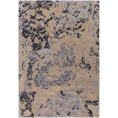 Jonas Neutral/Brown Area Rug Rug Size: 8 x 11