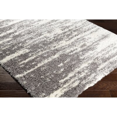 Grantham Gray/Neutral Area Rug Rug Size: 53 x 73