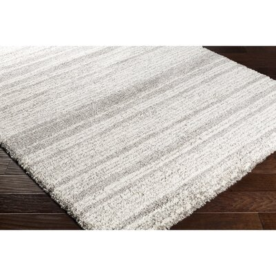 Perrott Neutral Area Rug Rug Size: 53 x 77