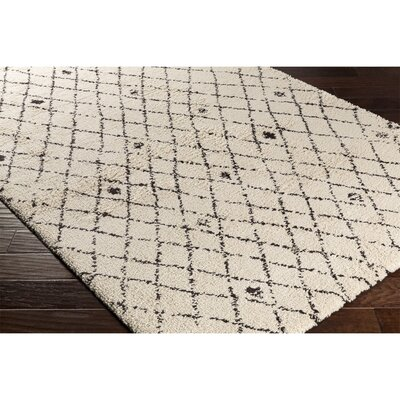 Perrott Neutral/Brown Area Rug Rug Size: 2 x 37