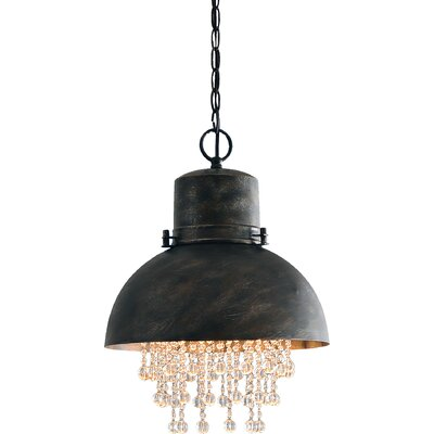 Monadnock 1 Light Inverted Pendant Finish: Painted Steel