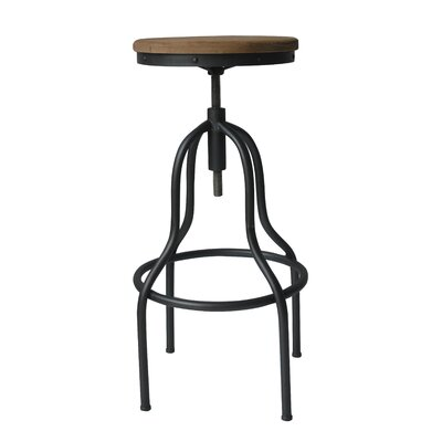 South Lake Tahoe Adjustable Height Swivel Bar Stool