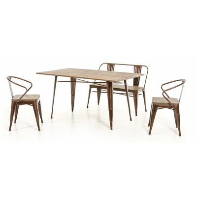 Daniella 4 Piece Dining Set