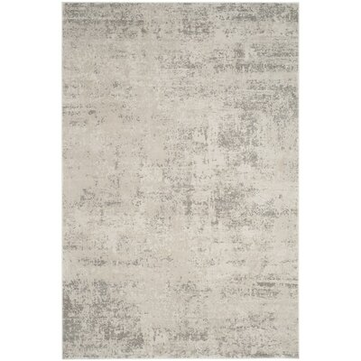Conway Beige/Gray Area Rug Rug Size: Rectangle 4 x 6