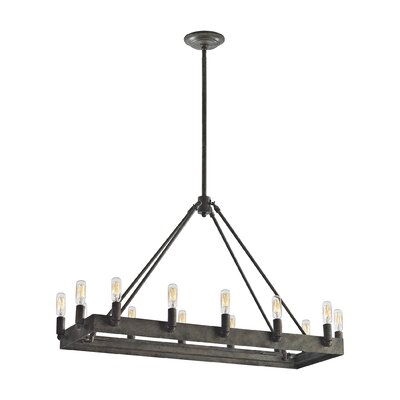 Copes 14-Light Kitchen Island Pendant