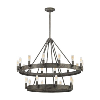 Copes 22-Light Candle-Style Chandelier
