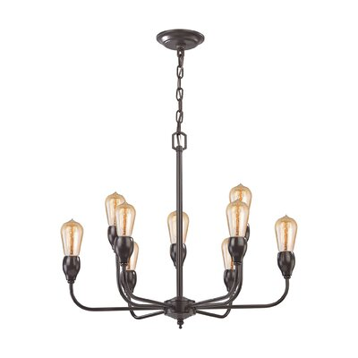 Sanford 9-Light Candle-Style Chandelier