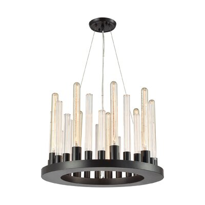 Canton 9-Light Candle-Style Chandelier