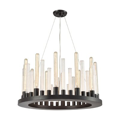Roscoe 12-Light Candle-Style Chandelier