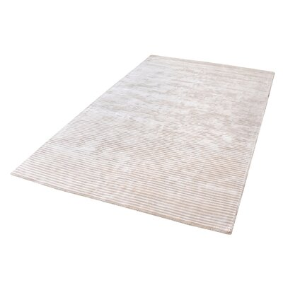 Lulu Hand-Woven Ivory Area Rug Rug Size: Rectangle 5 x 8