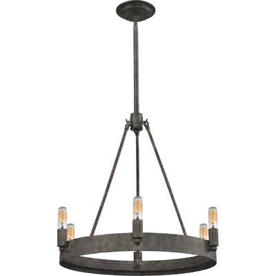 Copes 6-Light Candle-Style Chandelier
