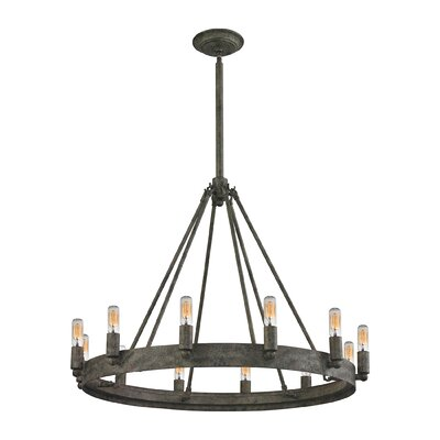Copes 12-Light Candle-Style Chandelier