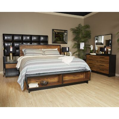 Finney Storage Panel Customizable Bedroom Set