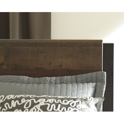 Taumsauk Panel Headboard Size: King
