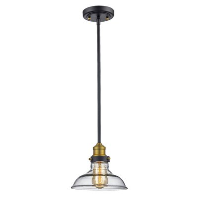 Skyler Industrial 1-Light Mini Pendant