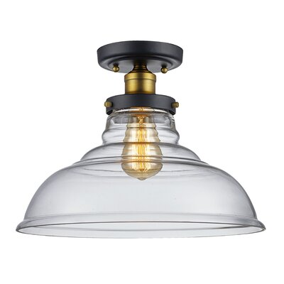 Skyler 1-Light Semi Flush Mount