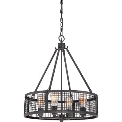 Wiley 4-Light Drum Pendant