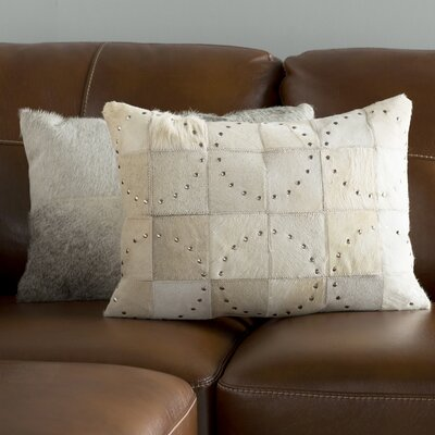 Isaiah Lumbar Pillow Color: White