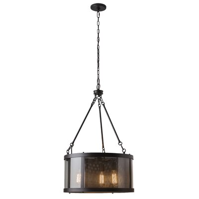 Patton 3-Light Drum Chandelier