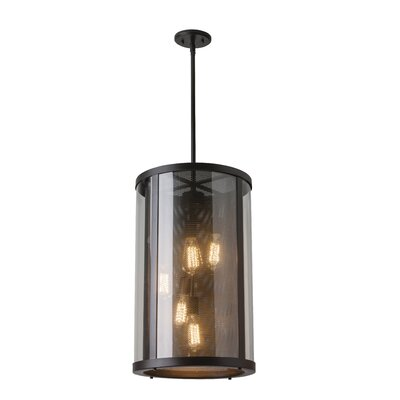 Patton 5-Light Shaded Chandelier