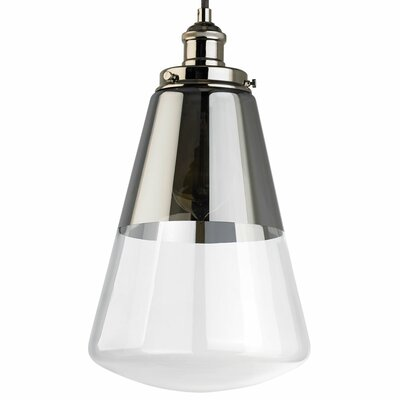 Jarne 1-Light Metal Mini Pendant Finish: Polished Nickel